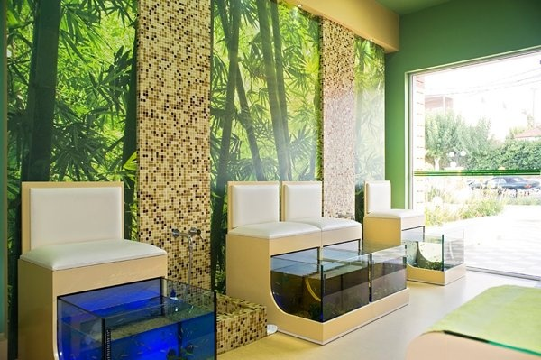 Fish-spa in Chania by 4CONCEPT ltd , via Behance