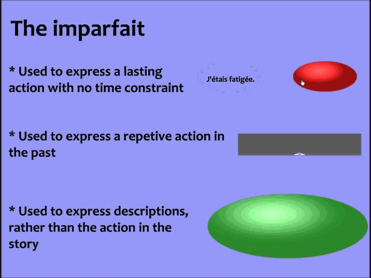 Passe Compose vs Imparfait