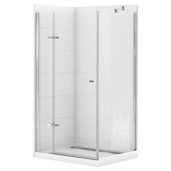 "Corner Shower Kit - ""Athena""  - 42"" x 34"""