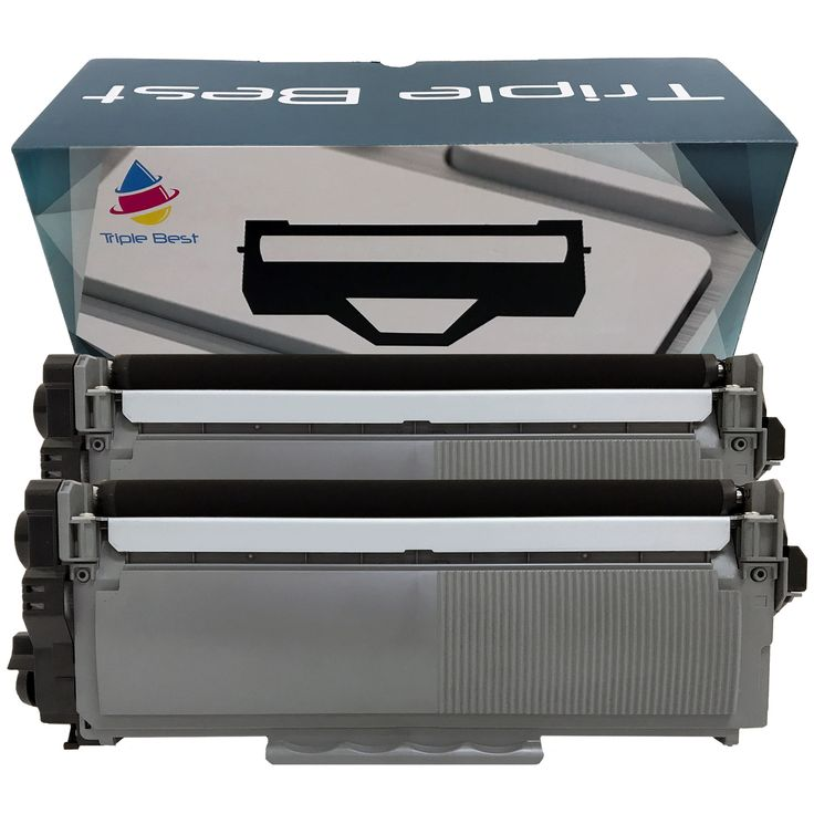 2 Pack Brother TN660 (TN-660) / TN630 High Yield Black Laser Toner Cartridges