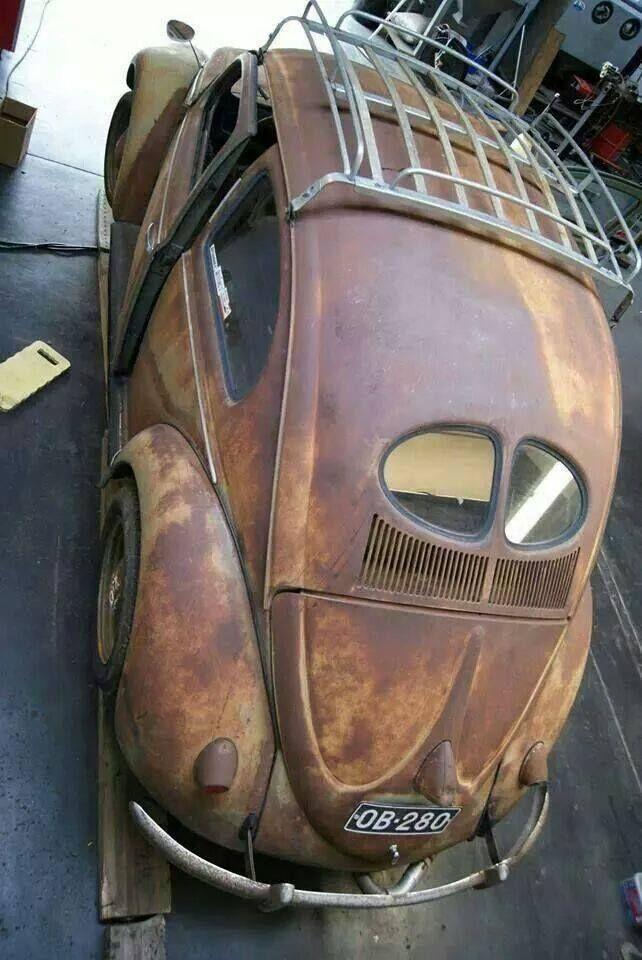 Nice Patina Split Window VW Beetle