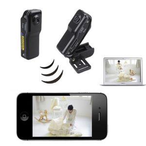Mini Wifi Kablosuz Gizli Casus Güvenlik Kamerası