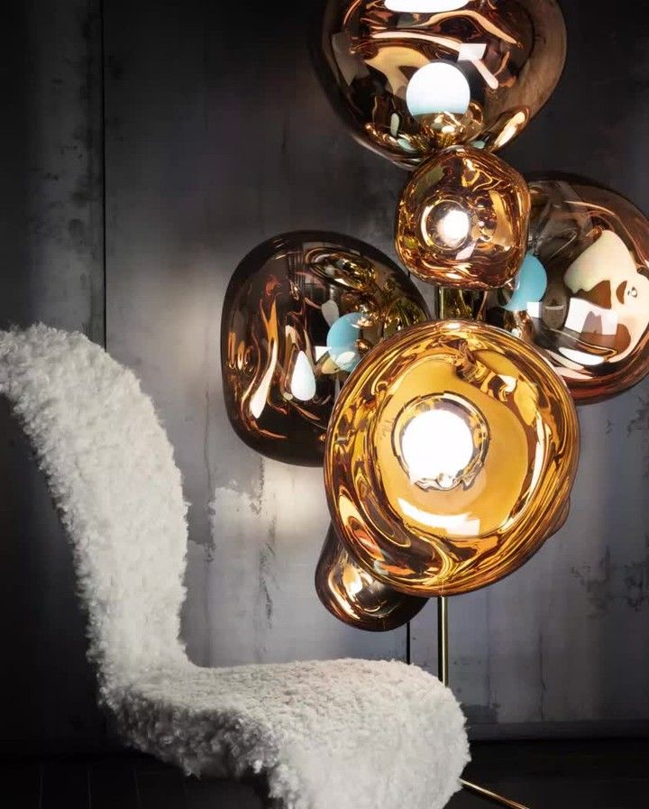Tom Dixon On Instagram Melt Floor Lights We Know That There S An Infinite Number Of Ways To Light A Space In 2020 Interior Light Fixtures Lights Tom Dixon