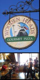 If you want really good pizza, check this place out!   Woodenheads Gourmet Pizza - 192 Ontario St. Kingston, Ontario