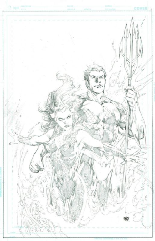 Aquaman 49 Variant Cover- Mera, in JordanP.'s Aquaman Comic Art Gallery Room