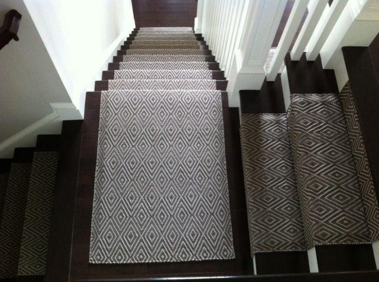 Grey And Black Indoor Outdoor Carpet Runner