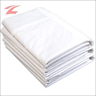 Pavillon Seitenteile, Polyester 160 g/m2, wasserdicht, UV-beständig, 3x3M Weiss
