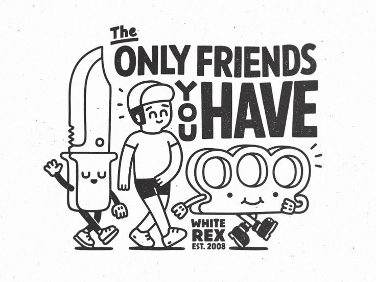 The Only Friends You Have by Zhenya Artemjev