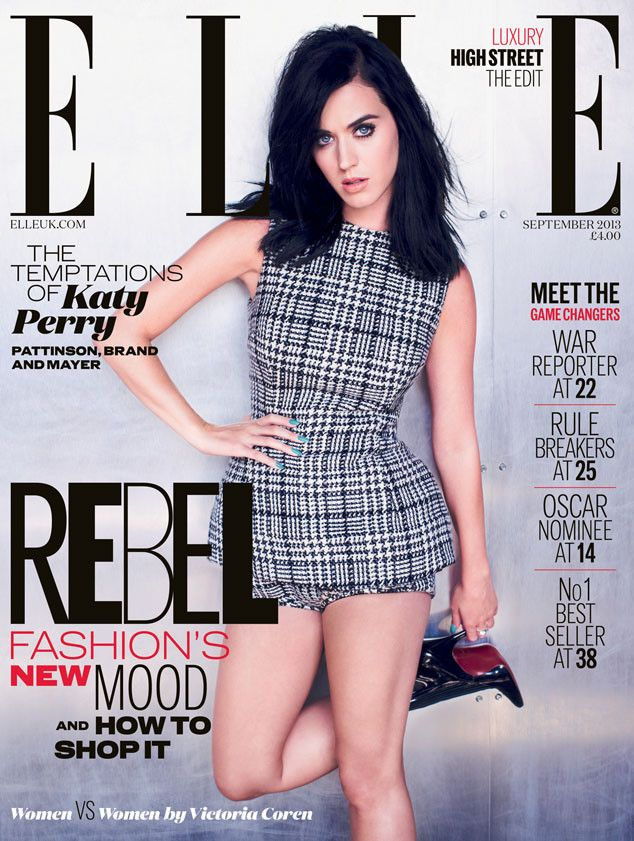 Katy Perry strikes a pose on the Sept. 2013 cover of Elle. Omg I Love Baby doll outfits