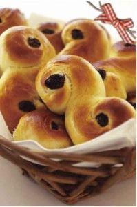 saffron sweet buns