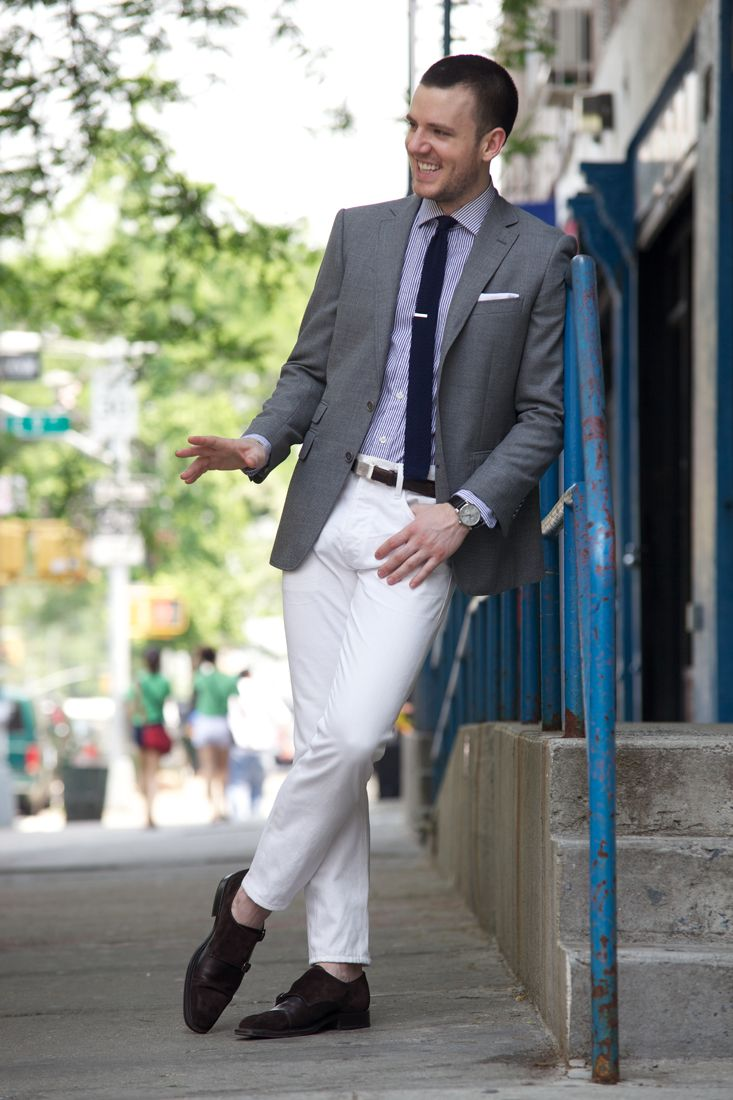 17 Best ideas about White Pants Men on Pinterest