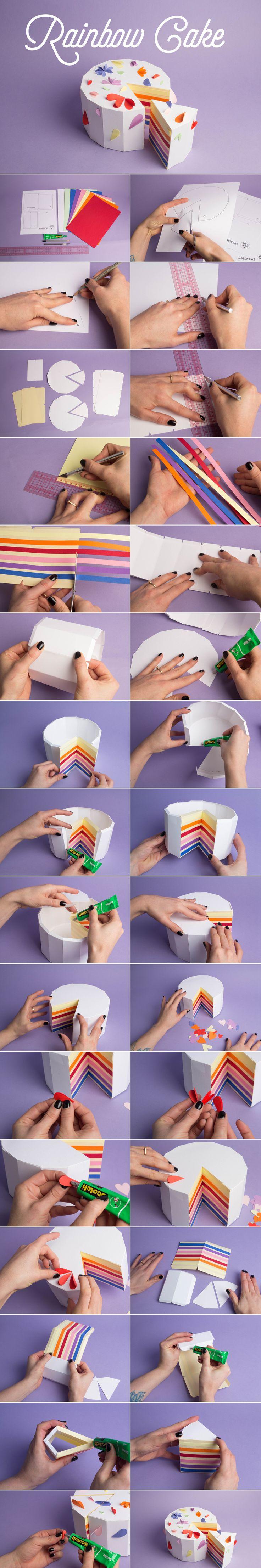 http://makemylemonade.com/diy-rainbow-cake/