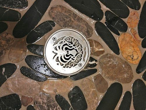 "drain review below  ""We were having our bathroom remodeled and when the contractor installed the ""standard"" drain cover we asked if there was something more ornate to which he replied ""Nope this is the standard cover"". Thankfully with a little research we found Designer Drains!!! Easy ordering quick delivery and we now have a drain cover that helps accentuate the new bathroom ... plus our contractor is now a little more educated!!! We'll definitely be back for our next remodeling ... kitchen…"