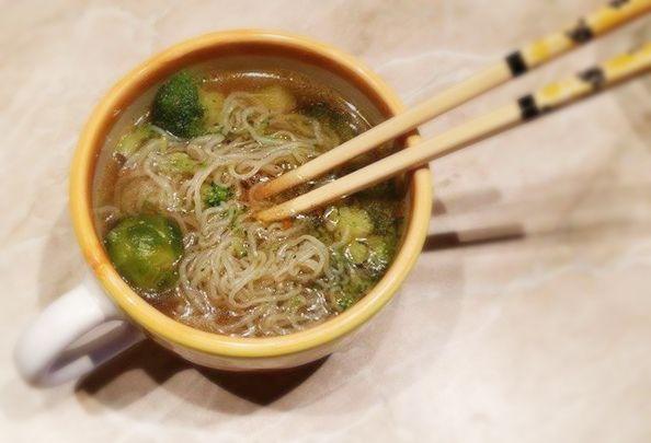 Csípős kínai leves NoCarb angyalhaj tésztával | Klikk a képre a receptért!