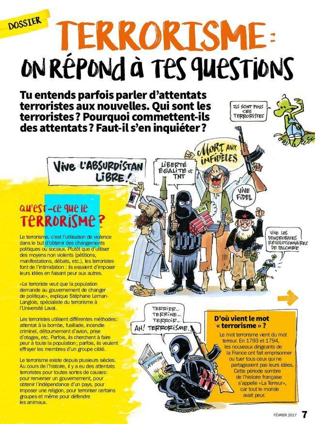 Extrait Les Debrouillards - Fevrier 2017