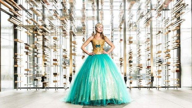 Submission #1   Interest: I love Turquoise, The dress is Beautuful and I love how The Turquoise stands out. The gold blocks look as if they are coming out at me. Source: http://m.canberratimes.com.au/act-news/hustle-on-down-and-scout-out-some-ecoconscious-fashion-20130919-2u0vj.html