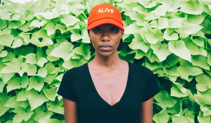 The Triage Collection is a testimony to both our triumphs & our  struggles--be they past, present or future.  Whatever alive means to you, don't change it for anyone else.  Photos by @africanist for GLOSSRAGS      * 100% Cotton unstructured      * Low-profile, classic, cut-washed cotton chino twill cap      * Adjustable self strap with hide-away side buckle      * Pre-curved bill      * Spot clean/hand wash