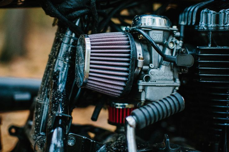 Tattoo You: A heavily inked Kawasaki W650 scrambler by Schlachtwerk  – W800