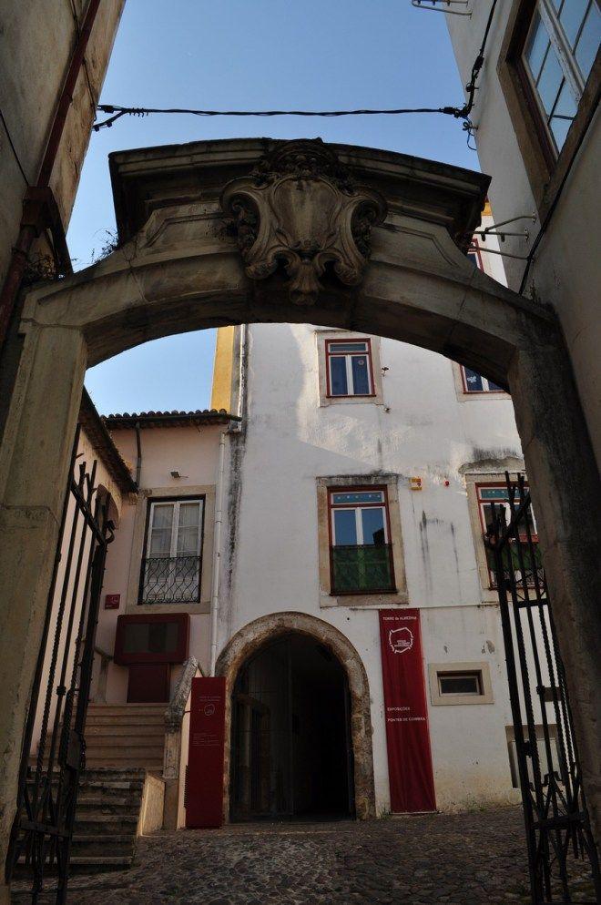 Coimbra, Portugal - Arco de Almedina