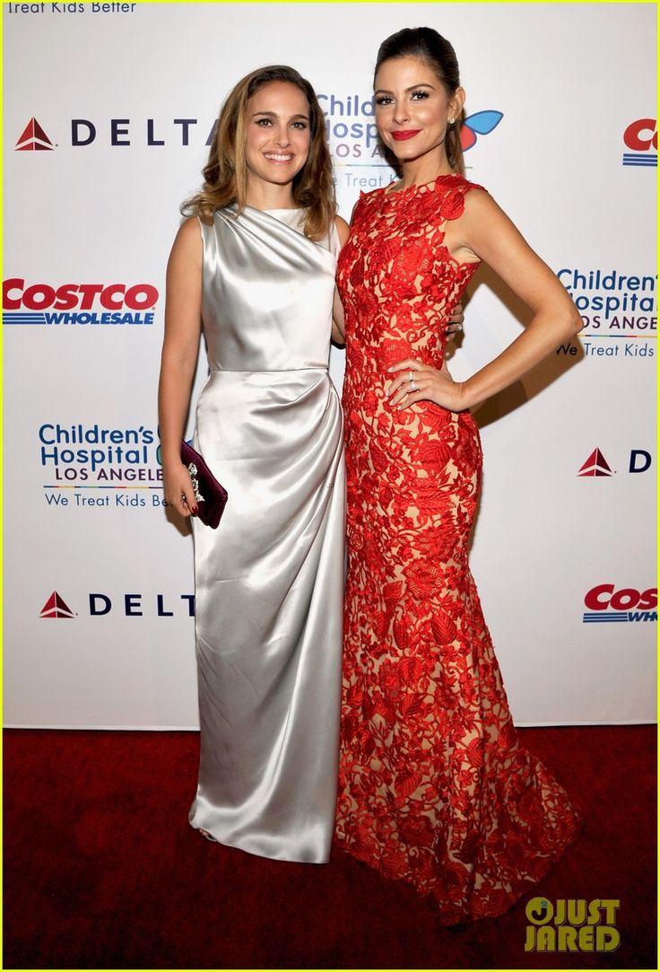 Natalie & Maria Menounos at the Children's Hospital Los Angeles Gala Noche De Ninos at LA Live in Los Angeles (11-10-14) Saturday Evening.