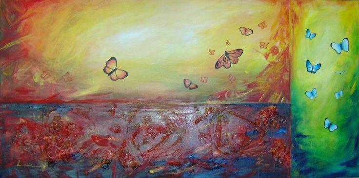 Butterflies. Art by Lanie Wilton
