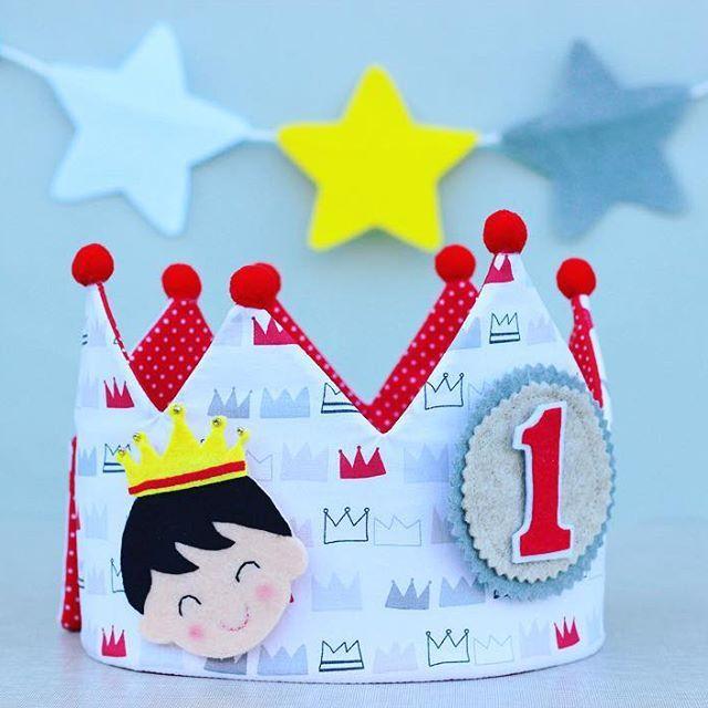 Corona de cumpleaños reversible ✨más modelos en www.pittitus.etsy.com