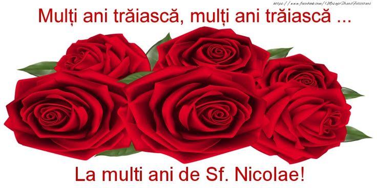 Multi ani traiasca, multi ani traiasca ... La multi ani de Sf. Nicolae!