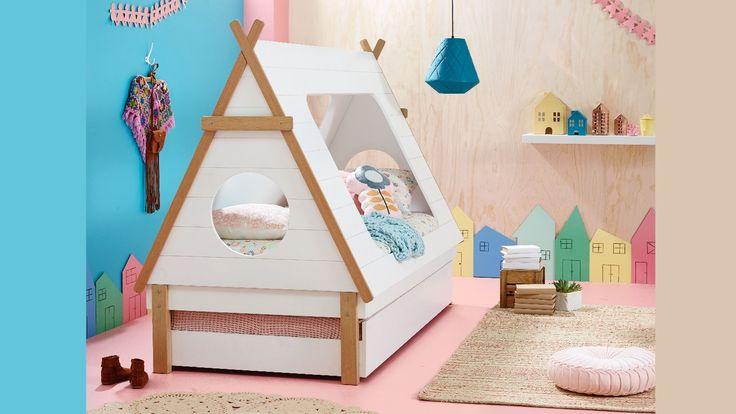 Home :: Bedroom :: Kids Bedroom :: Kids Beds :: Tee Pee Kids Bed Frame
