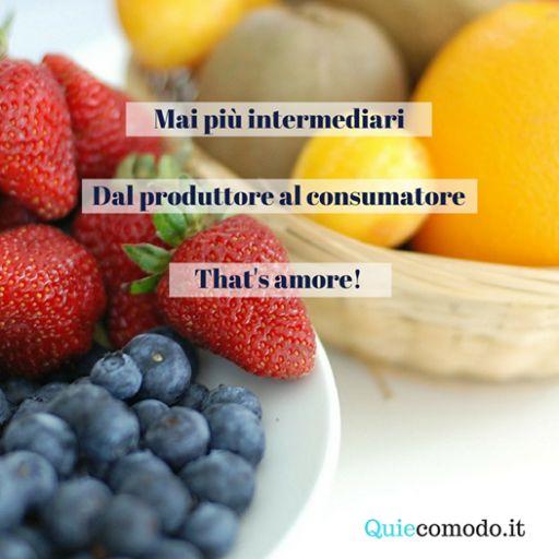 La prima piattaforma in Italia dove potrai raggiungere gratuitamente chi ama il vero gusto della terra. Di' addio agli intermediari e abbandonati alla semplicità, ora ci siamo noi! #ilsaporedellaterra #quiecomodo #dayone ISCRIZIONE GRATUITA www.quiecomodo.it
