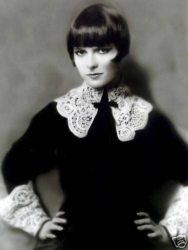 Louise Brooks (November 14, 1906 – August 8, 1985) is best known as the lead in 3 feature films made in Europe, including two G. W. Pabst films: Pandora's Box (1929), Diary of a Lost Girl (1929), and Prix de Beauté (Miss Europe, 1930). She starred in seventeen silent films and eight sound films before retiring in 1935. Brooks published her memoir, Lulu in Hollywood, in 1982 and died 3 years later.