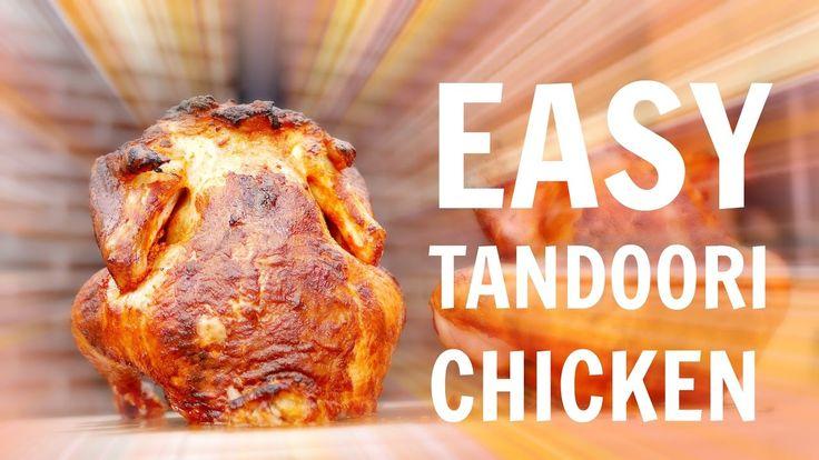SUPER EASY TANDOORI CHICKEN - Best Tandoori chicken you ever had!! #napoleongrill #chicken #bbq #tasty #thanksgiving