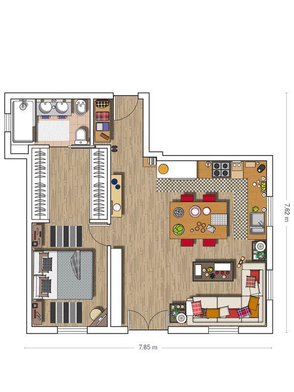 Exquisite apartment in Santander with delicious details