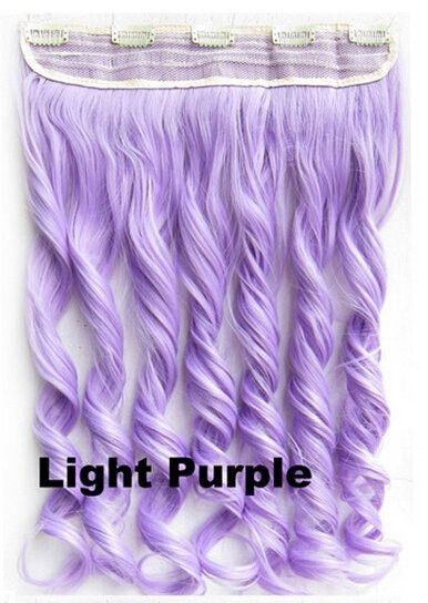 25 unique synthetic hair extensions ideas on pinterest jumbo colorful candy 12colors clip in hair extensions 1weft5pcs body wave pink red green blue pmusecretfo Gallery