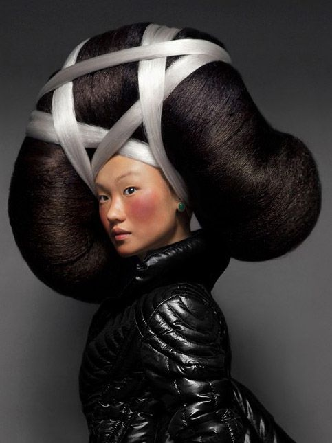 Big Creative Hairstyle Concept Direction Hair Nicolas Jurnjack