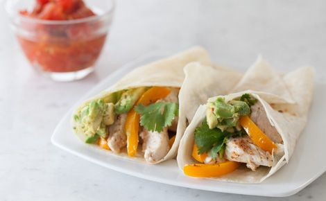 Steamer Chicken Fajitas