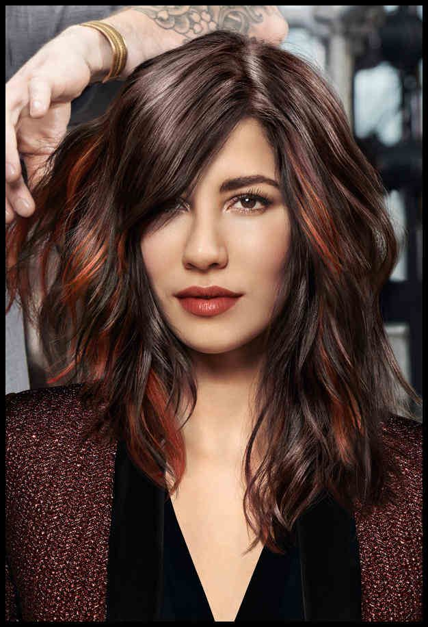 Frisuren Trends Fur Braune Haare 2015 Fruhling In 2019 Damen