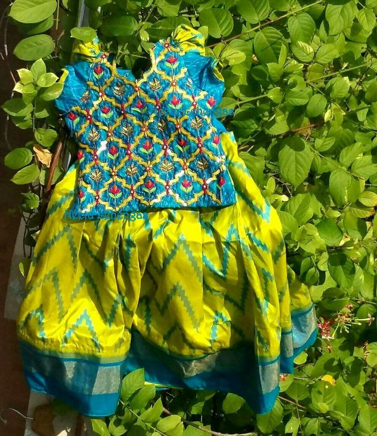 1141 best kids ethnic wear images on pinterest blouse for Kids dress fabric
