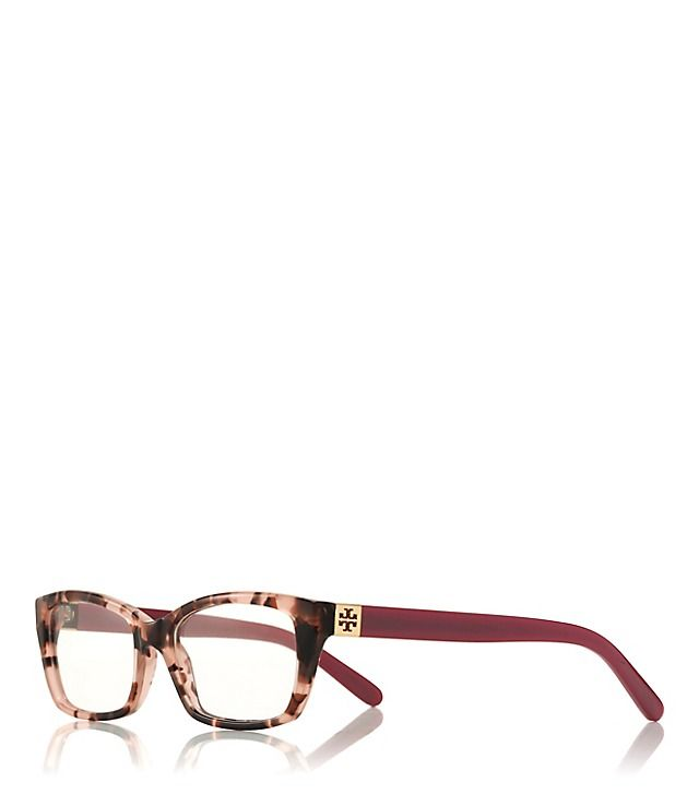 Tory Burch Tortoise Rectangle Eyeglasses