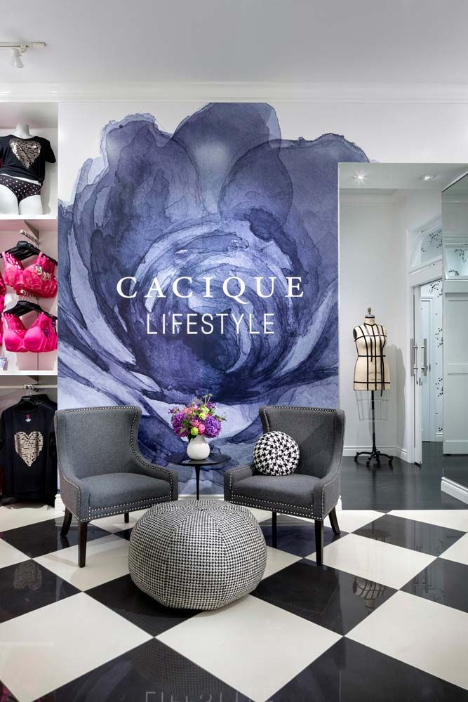 "CACIQUE LIFESTYLE,(Active/Lingerie Wear),Jersey City,New York, ""Waiting Area"", pinned by Ton van der Veer"