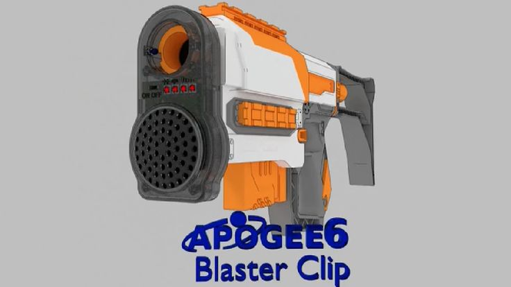 New-age attachment turning NERF gun into blaster arrives on Kickstarter!