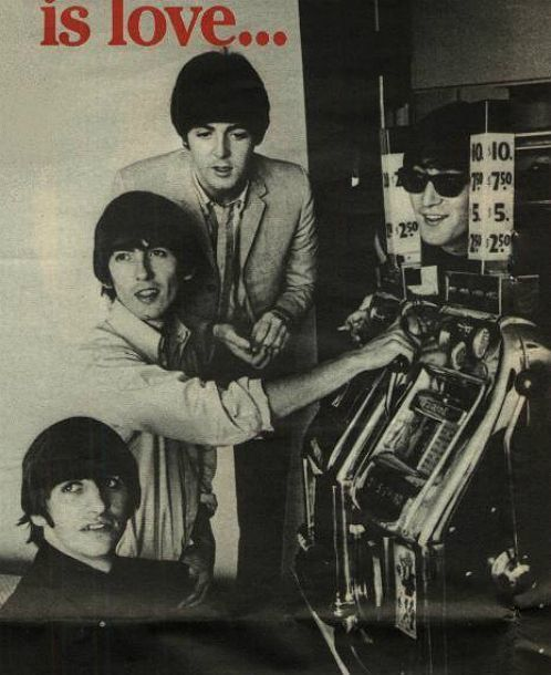 The Beatles hit Las Vegas August 1964.  www.all-chips.com sell chips from hundreds of different Casinos and very user friendly.