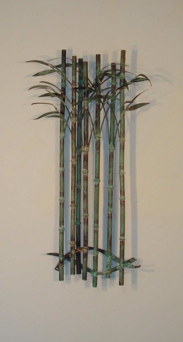 bamboo delight metal wall decor outdoor metal wall art on metal wall art id=60089