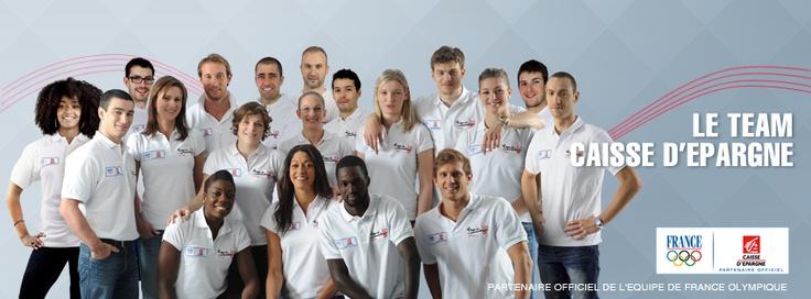 Le Team Caisse d'Epargne