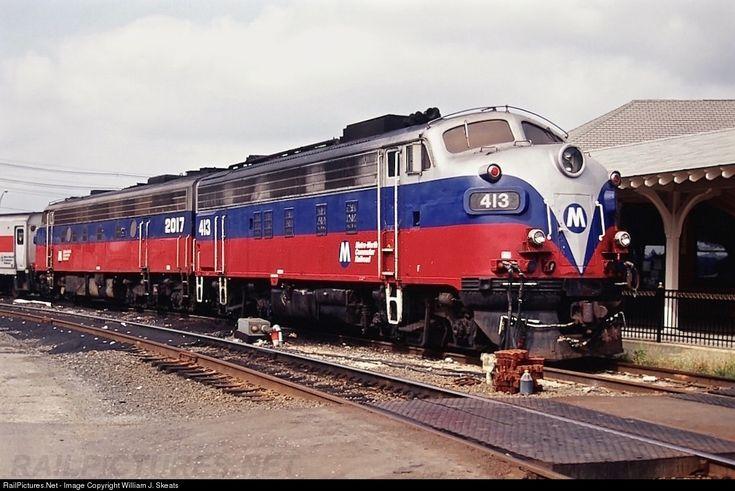RailPictures.Net Photo: MNCR 413 Connecticut Department of Transportation (CDOT) EMD F10 at Danbury, Connecticut by William J. Skeats
