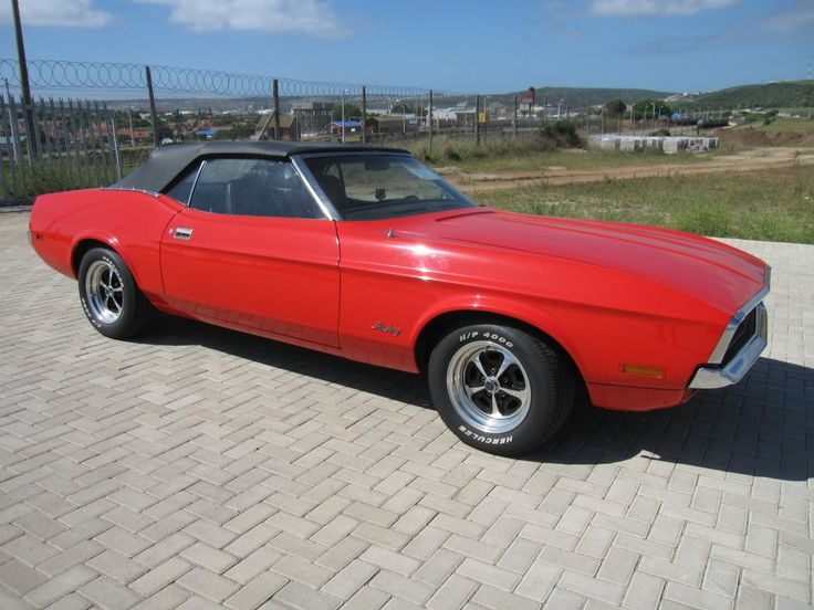 1000 Images About 1971 Ford Mustang Convertible On