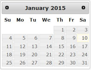 Selenium by Needs: Selecting Date on JQuery Datepicker