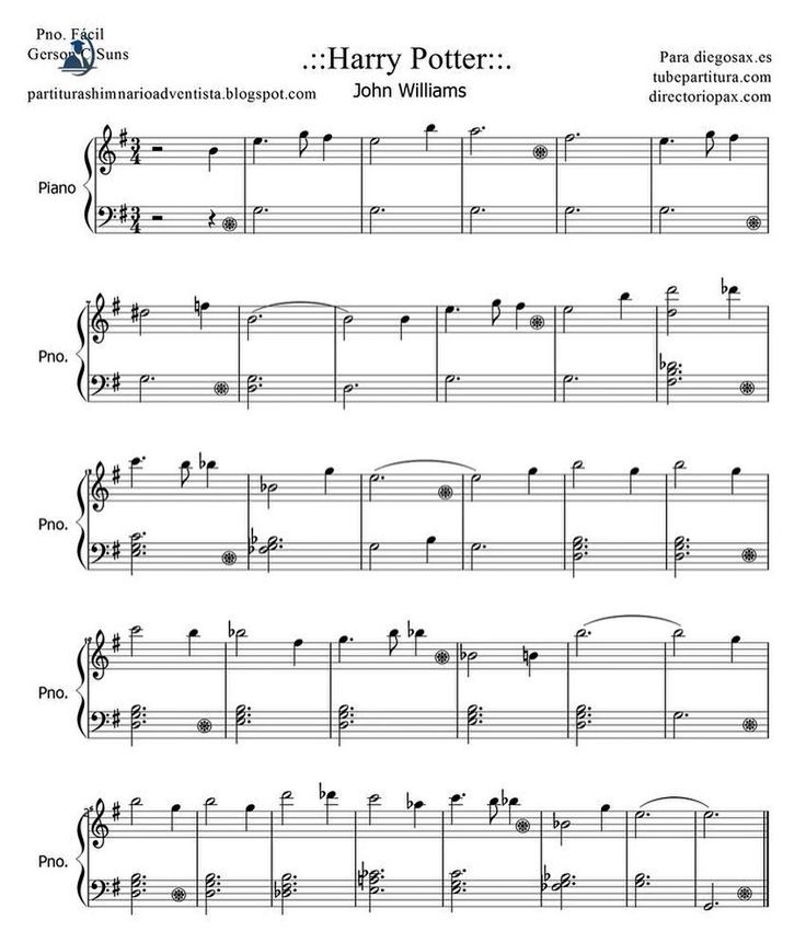 Let's play Harry Potter some! #Piano #Sheetmusic #OST #Note by haiiah
