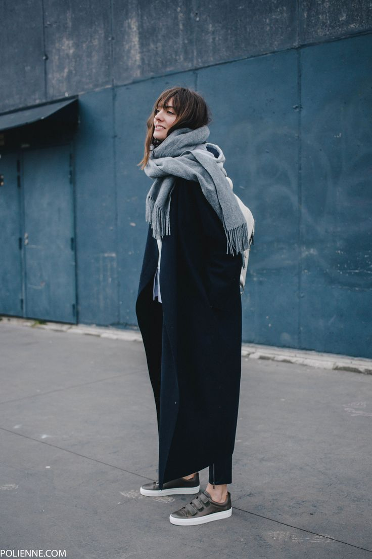 POLIENNE | wearing a Stella McCartney x Adidas hoodie, Boss Orange leather pants & Whistles sneakers