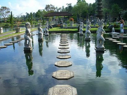 Tirtagangga water garden, Bali - 