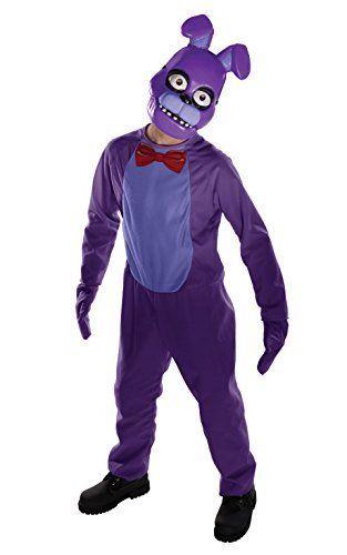 Rubie's Costume Kids Five Nights at Freddy's Bonnie Costume, Large